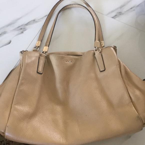 Coach Handbags - Beautiful coach nude bag